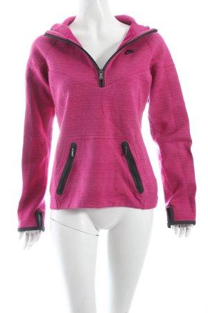 Nike Pullover himbeerrot-purpur sportlicher Stil