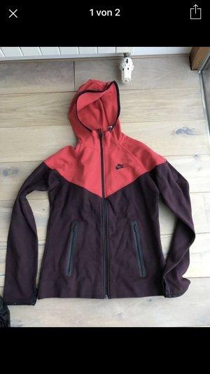 Nike Pullover Hoddie Jacke Damen pink lila Gr. M neu mit Etikett