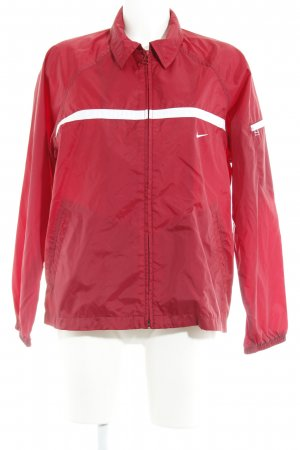 Nike Imperméable rouge carmin style universitaire