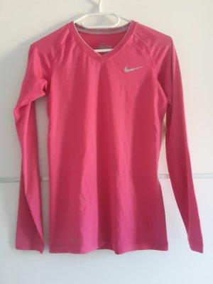Nike rosa pink Laufshirt Sportshirt langarm