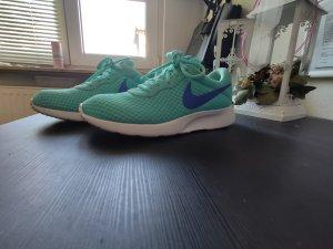Nike Sneakers met veters blauw-turkoois