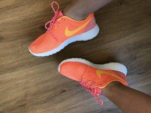 Nike Roshe One Mesh Pink orange gelb