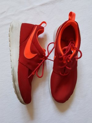 Nike Roshe Run Neon rot/orange