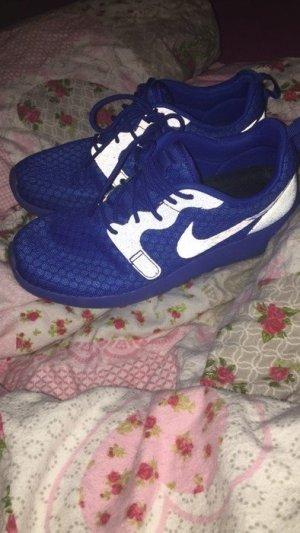 Nike Sneakers blue-neon blue