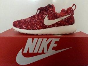Nike Roshe Run Print Rot Weiß