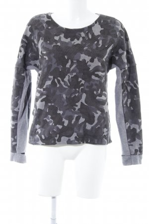 Nike Rundhalspullover Camouflagemuster Casual-Look