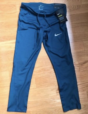 Nike Running Crop Lauftight S Blaugrau