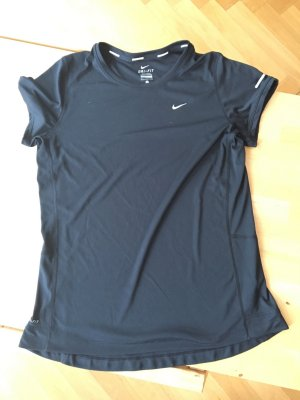 Nike Running Dri Fit Laufshirt Schwarz Grösse L
