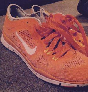 Nike Running free orange Sport