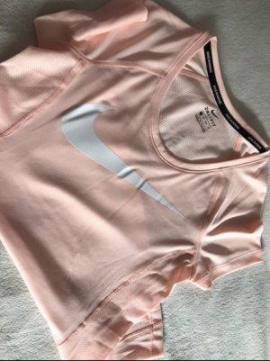 Nike Sporttop roségoud-wit