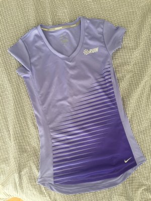 Nike Running Shirt in Velvet