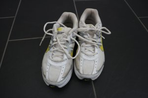 Nike Sneaker giallo neon-bianco