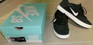 Nike SB Check (GS) - schwarz --GRÖSSE 35,5