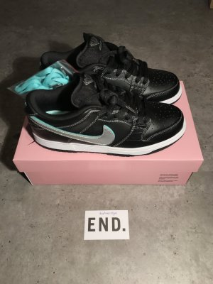 Nike SB Dunk Pro Diamond Supply Black US 7.5