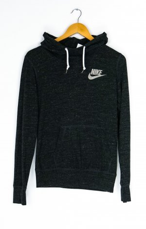 Nike Capuchon sweater antraciet-wit