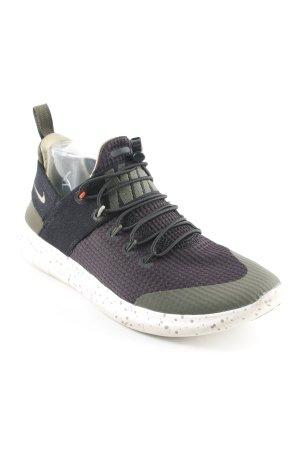 Nike Schlüpfsneaker khaki-schwarz Casual-Look