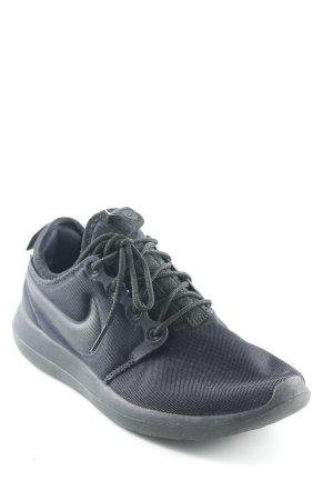 Nike Schlüpfsneaker schwarz sportlicher Stil