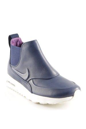 Nike Schlüpfsneaker weiß-dunkelblau sportlicher Stil