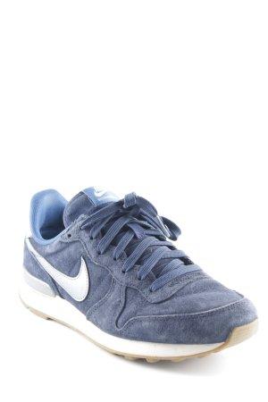 Nike Schnürschuhe blau sportlicher Stil