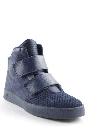 Nike Schnürschuhe dunkelblau sportlicher Stil