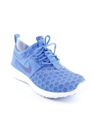 Nike Schnürschuhe stahlblau Casual-Look