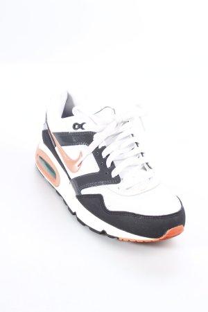 Nike Schnürschuhe weiß-lachs Casual-Look