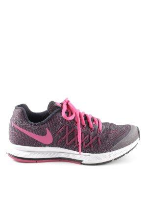 Nike Schnürsneaker pink-hellgrau meliert sportlicher Stil