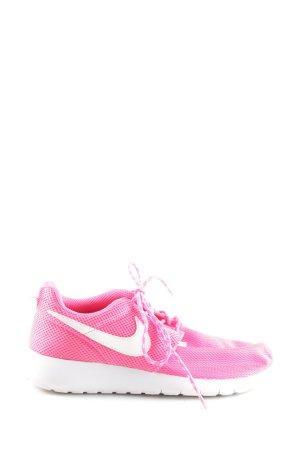 Nike Schnürsneaker pink-weiß sportlicher Stil