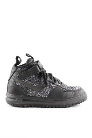 Nike Sneakers met veters zwart-lichtgrijs gestippeld casual uitstraling