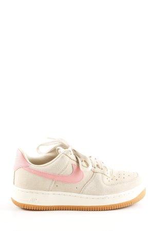 Nike Schnürsneaker creme-pink sportlicher Stil