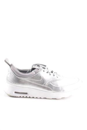 Nike Schnürsneaker silberfarben Casual-Look