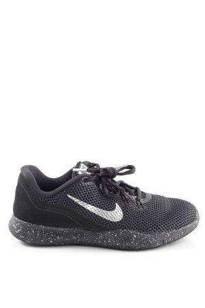 Nike Sneakers met veters zwart-wit casual uitstraling