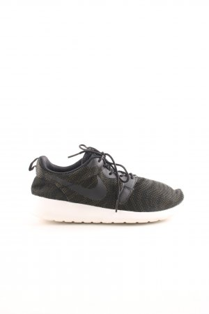 Nike Schnürsneaker schwarz-khaki Animalmuster Casual-Look