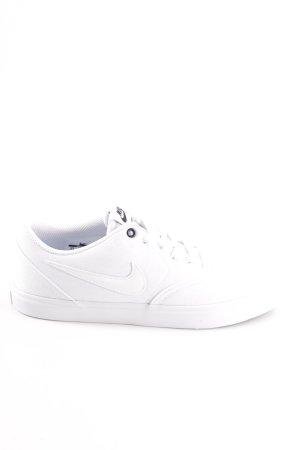 Nike Schnürsneaker weiß Elegant