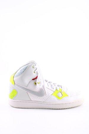 Nike Basket à lacet multicolore style décontracté