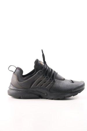 Nike Schnürsneaker schwarz-braun schlichter Stil
