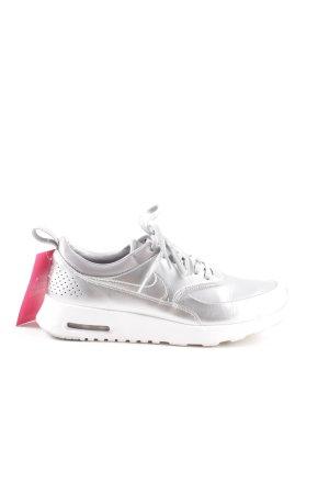 "Nike Schnürsneaker ""Thea"" silberfarben"