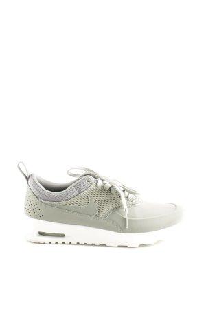 Nike Schnürsneaker hellgrau-weiß Webmuster Casual-Look