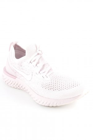 Nike Lace-Up Sneaker dusky pink athletic style