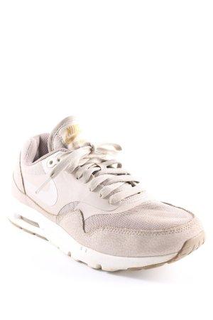 Nike Schnürsneaker beige-weiß Casual-Look