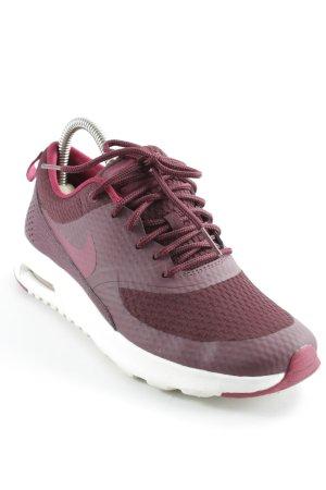 Nike Schnürsneaker bordeauxrot sportlicher Stil