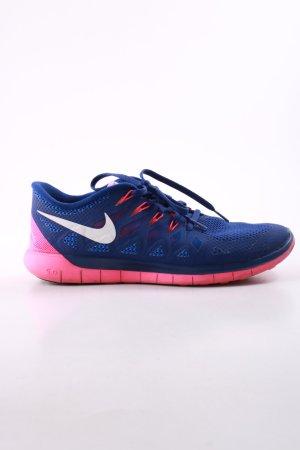 Nike Schnürsneaker blau-pink sportlicher Stil