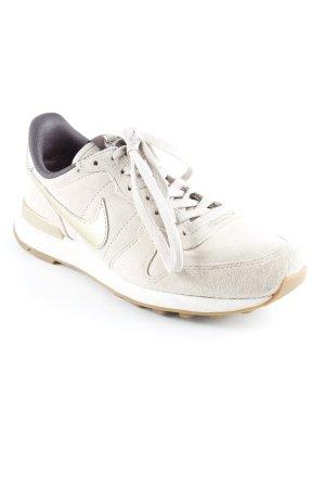 Nike Sneaker stringata crema stile casual