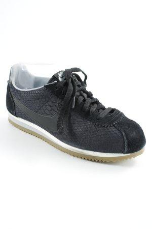 Nike Schnürsneaker dunkelblau-schwarz Casual-Look