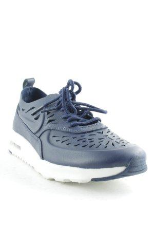 Nike Schnürsneaker dunkelblau-weiß Casual-Look