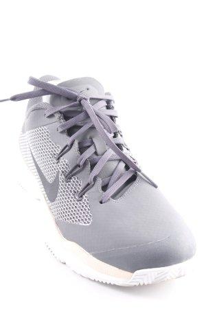 Nike Schnürsneaker dunkelgrau-nude sportlicher Stil