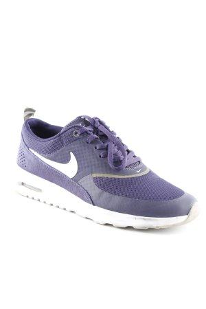 Nike Schnürsneaker dunkelviolett-flieder Casual-Look