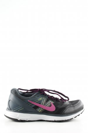 Nike Zapatilla brogue negro-rosa look casual