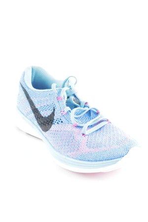 Nike Schnürsneaker Farbtupfermuster sportlicher Stil