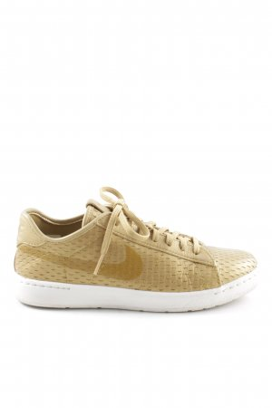 Nike Lace-Up Sneaker gold-colored casual look